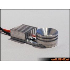 R16 - Reflector Ø 16 mm flat heatsink